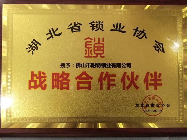 湖北省开锁行业战略合作伙伴